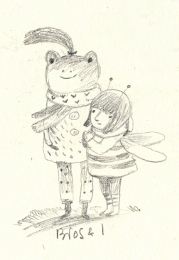 Brosc (frog) and Bee