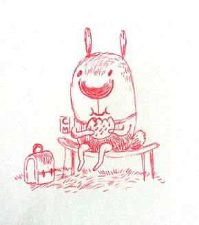 Rabbit in Lunch Break
