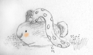 dots bunny
